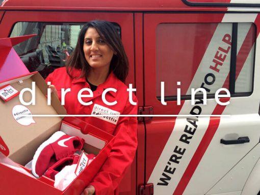 Direct Line Campaign Staff