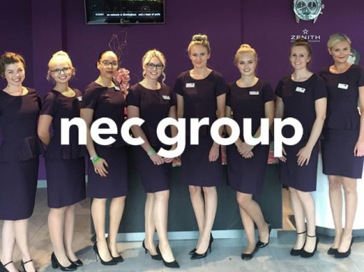 NEC Group Hospitality Staff