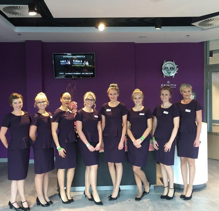 NEC Group Hospitality Staff