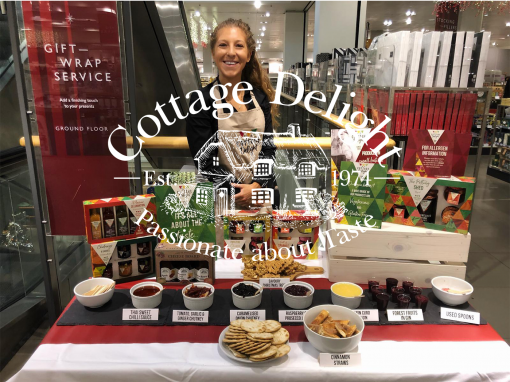 Cottage Delight Food Sampling Staff