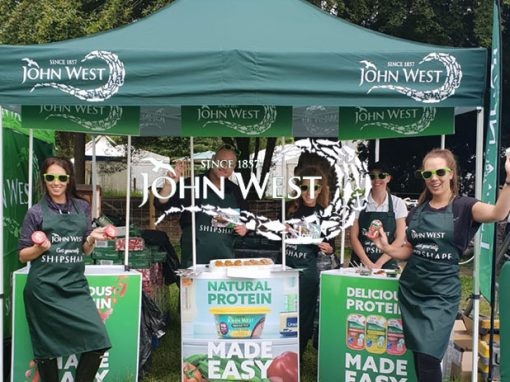 John West Food Sampling Staff
